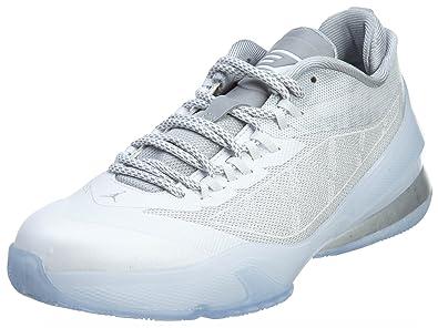 3dcf35e09a6 Nike Grade-School Air Jordan CP3 VIII 8 BG White Pure Platinum-Retro
