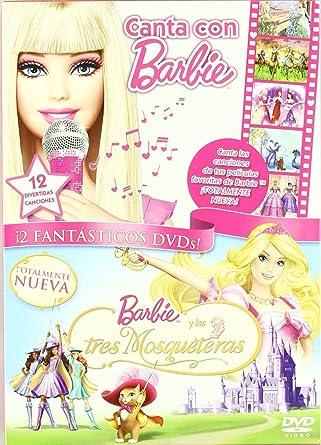 Pack Canta Con Barbie + Las 3 Mosquetera [DVD]: Amazon.es: Varios ...