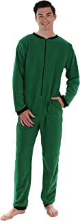 Sleepyheads Men's Sleepwear Fleece Non Footed Color Onesie Pyjamas Jumpsuit