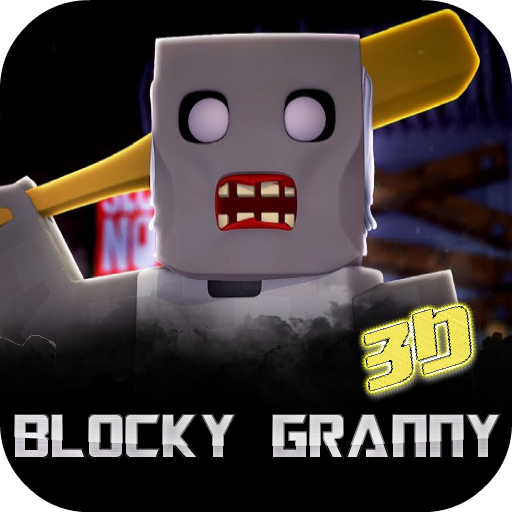 Blocky Granny Horror House 3D (Cool Things To Make In Minecraft House)