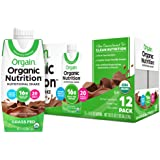 Orgain Organic Nutritional Shake, Creamy Chocolate Fudge - Meal Replacement, 16g Protein, 21 Vitamins & Minerals, Gluten Free