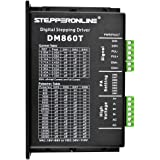 STEPPERONLINE CNC Digital Stepper Motor Driver 2.4-7.2A 18-80VAC or 36-110VDC for Nema 34 and 42 Motor