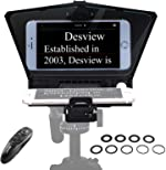 Desview-T2-Teleprompter for Smartphone Tablet DSLR Camera Portable Teleprompter Kit with Remote