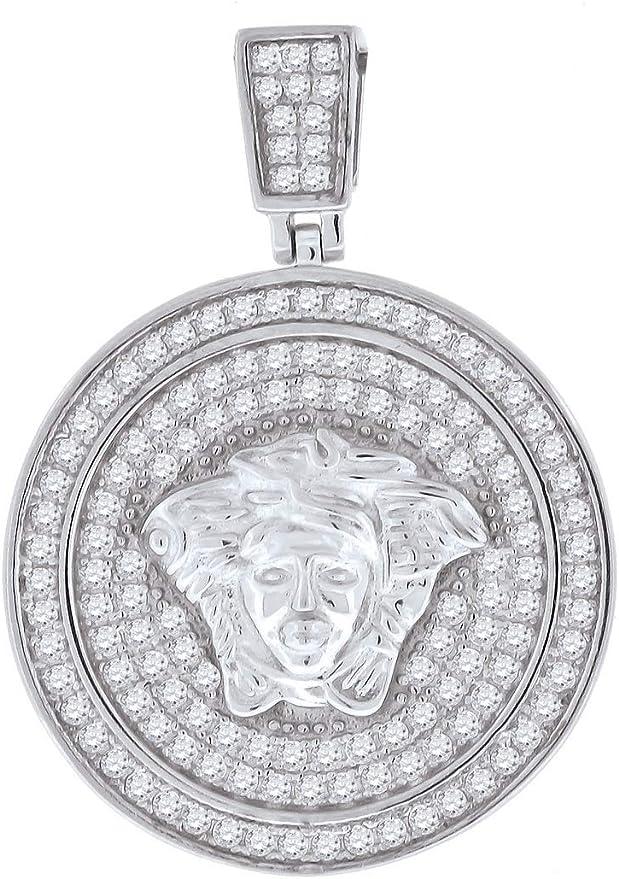 Gorgon Medusa Charm Pendant Medusa Mens Pendant Necklace Best Gift Ideas