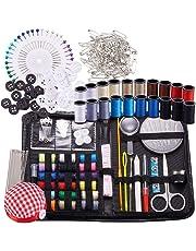 BENECREA Kits de costura y tricotosas, 272 piezas Suministros de costura con botones y broches