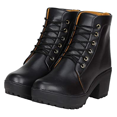 Ethics Women s Leather Ankle Boots for Women s  Buy Online at Low ... 3db914aae