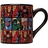 Silver Buffalo MV9132 Marvel Comics Grid Ceramic Mug, 14-Ounces, multicolor