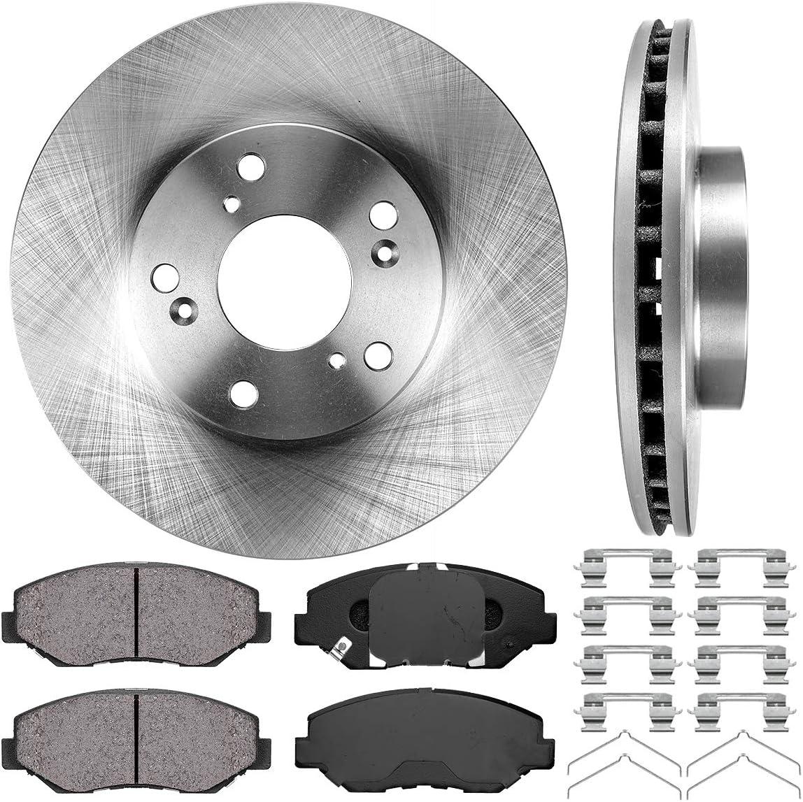 OE Replacement Rotors w//Ceramic Pads F 2004 Honda Accord Sdn See Desc.