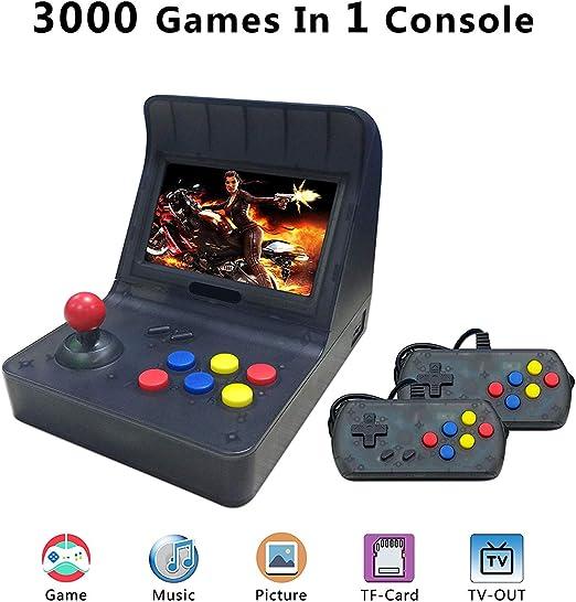 Amazon.es: Anbernic Consola de Juegos Retro Reproductor de Videojuegos Retro clásico Consola de Juegos portátil 16GB 4.3