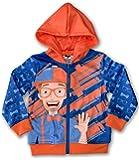 Blippi Zippi Official Zip-up Hooded Sweatshirt - Size 4T