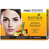 Biotique Bio Anti Tan Kit Removes Tan and Makes Skin Fair, 75g