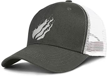 YJRTISF Game Cool Preston-Fire-Logo- Hat Trucker Cap for ...