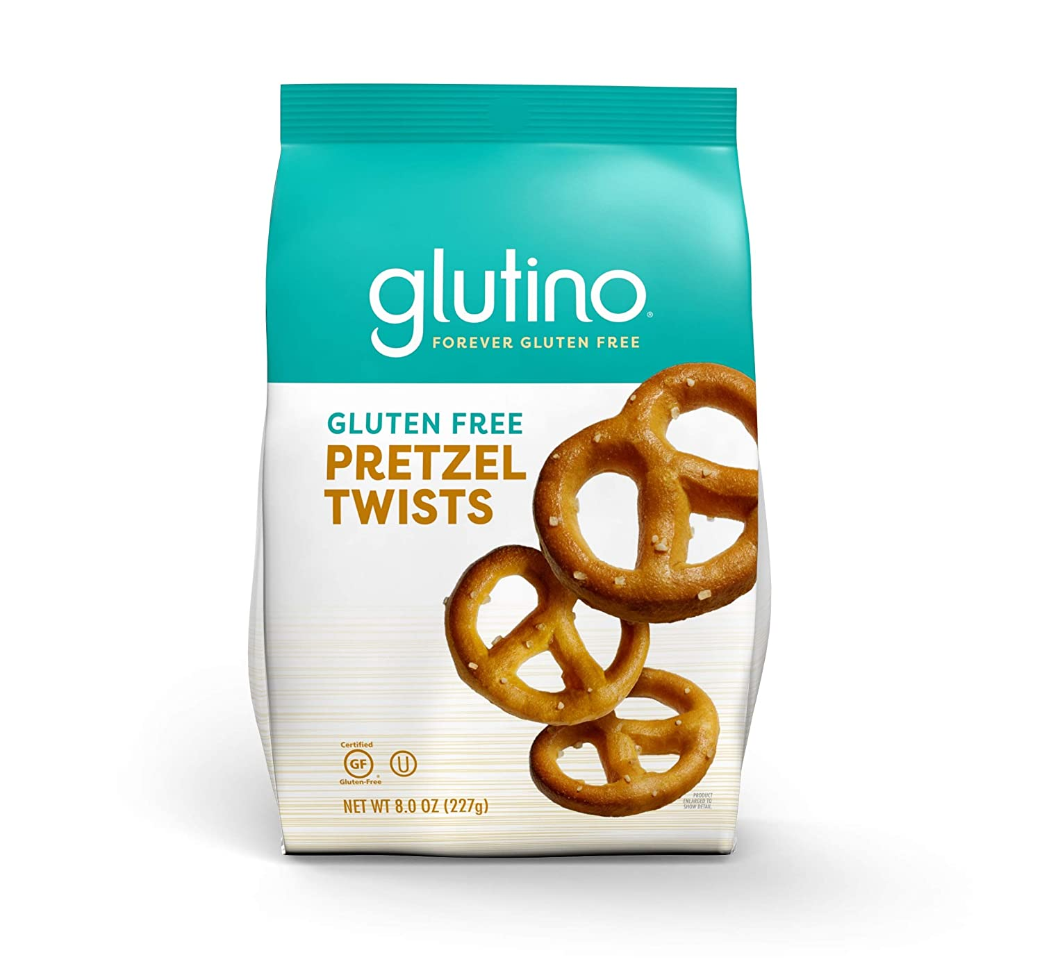Gluten Free by Glutino Pretzel Twists, Delicious Everyday Snack, Salted, 8 Ounce