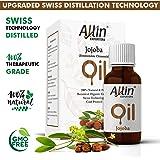 Allin Exporters Jojoba Oil - 100% Pure Virgin Cold Pressed Unrefined Organic Jojoba Oil