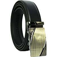 West Leathers Men's Fashion Leather Belt Leather Belts