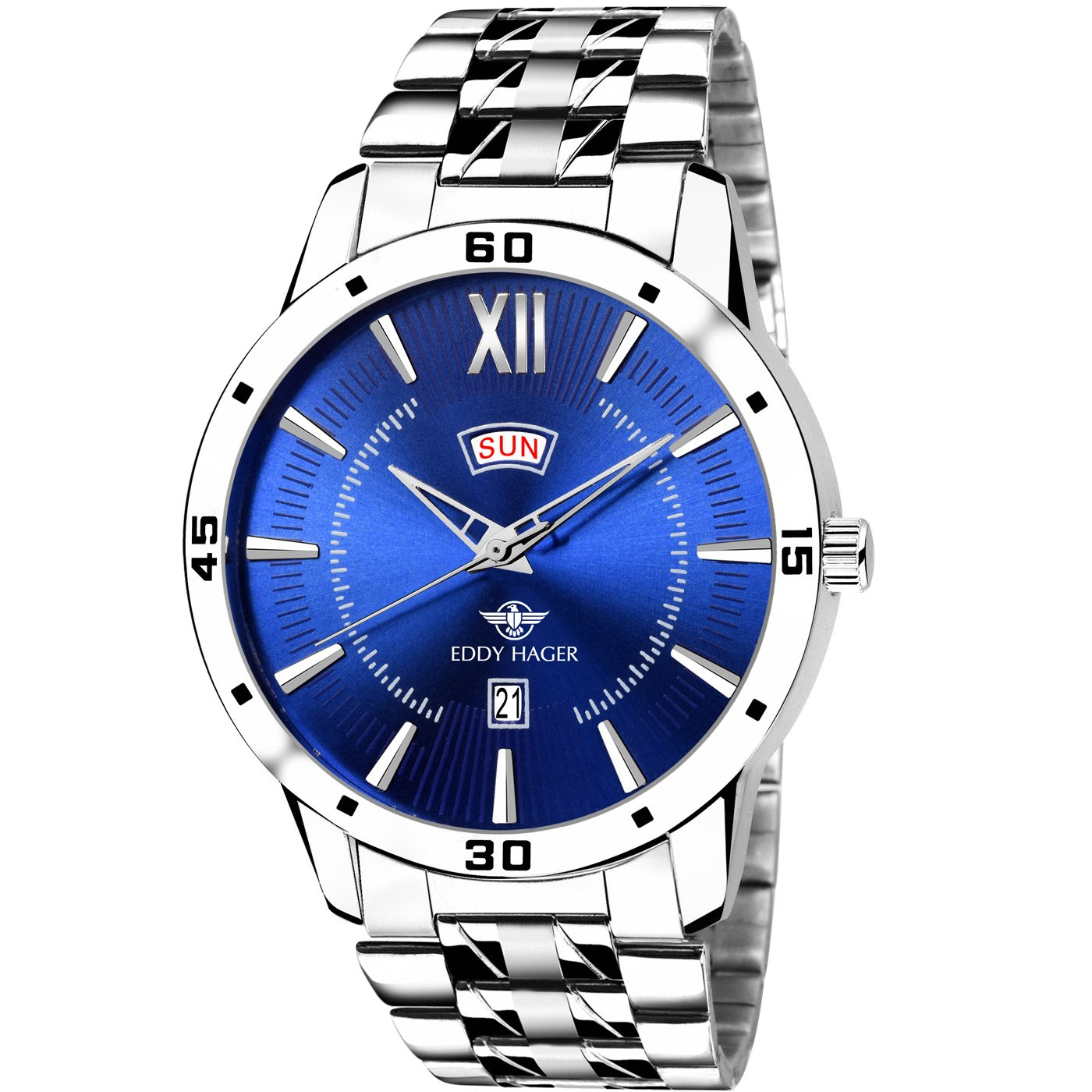 Eddy Hager Day and Date Men's Watch EH-212 product image