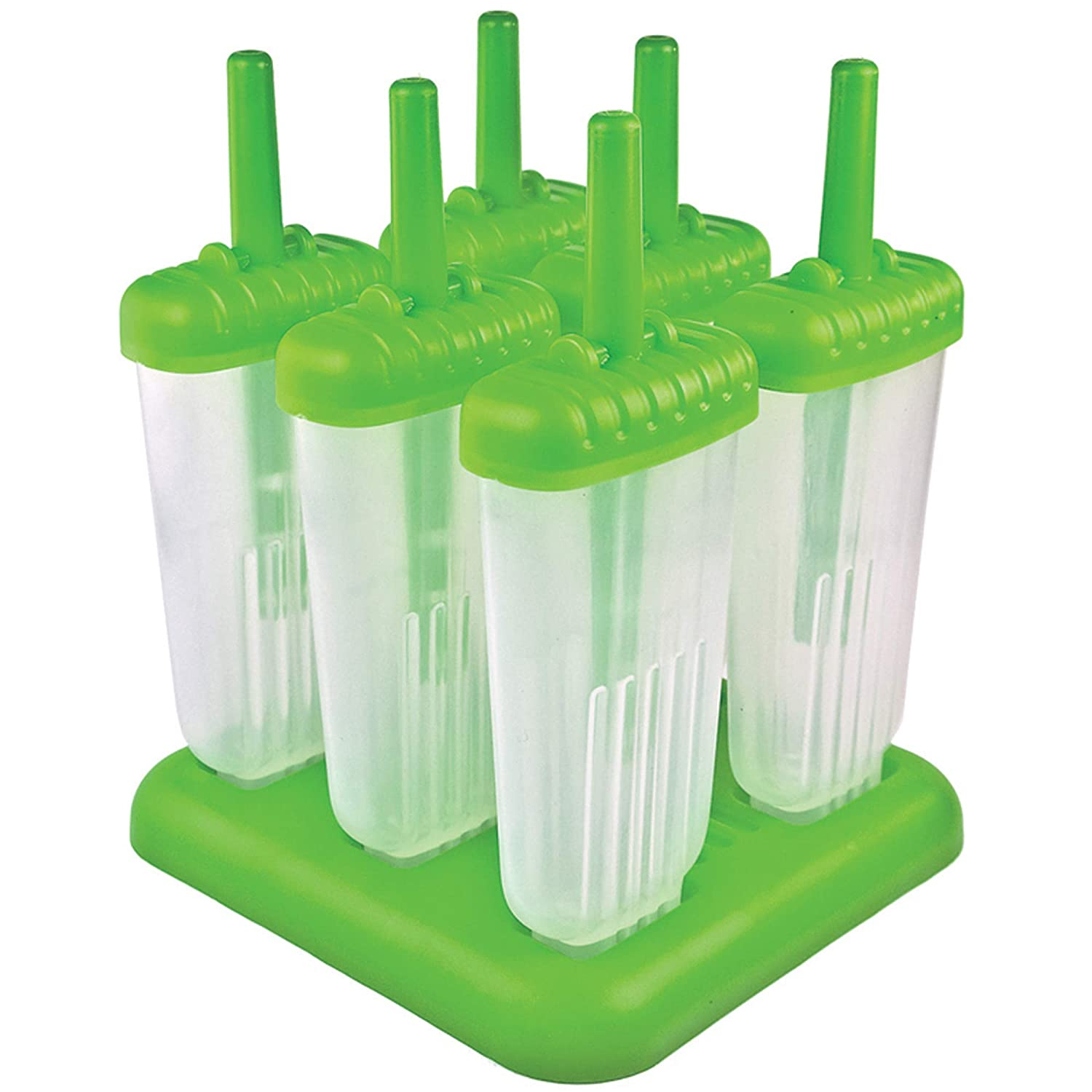 Tovolo Groovy Pop Molds - Green
