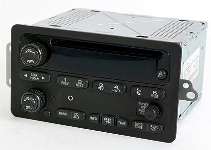 Amazon Chevy Trailblazer Gmc Envoy 2002 2003 Radio Am Fm Cd W