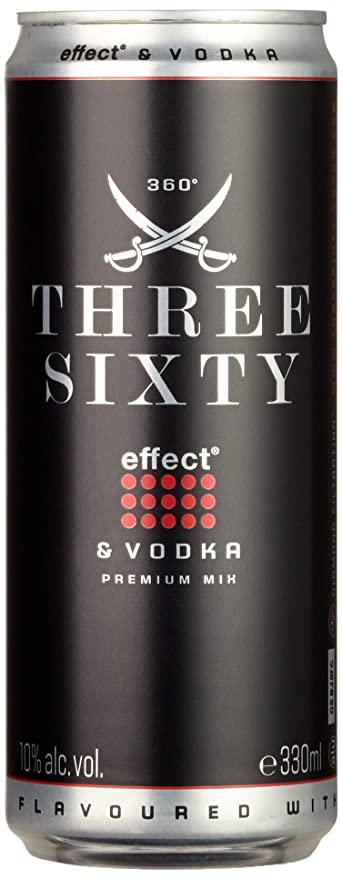Three Sixty Energy Wodka (24 x 0.33 l): Amazon.de: Bier, Wein ...