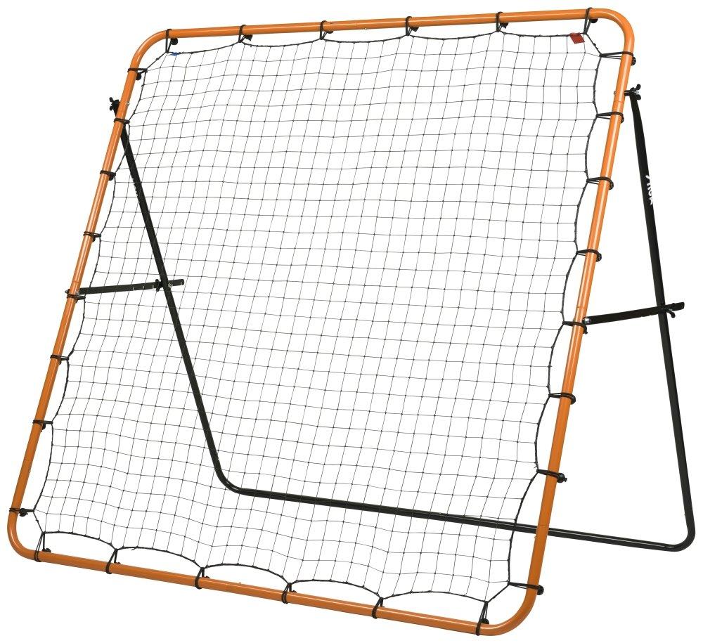 STIGA Kicker Fußball Rebounder, Orange/Schwarz, 150 x 150 cm
