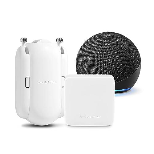 Echo Dot + SwitchBot Hub Mini + カーテン