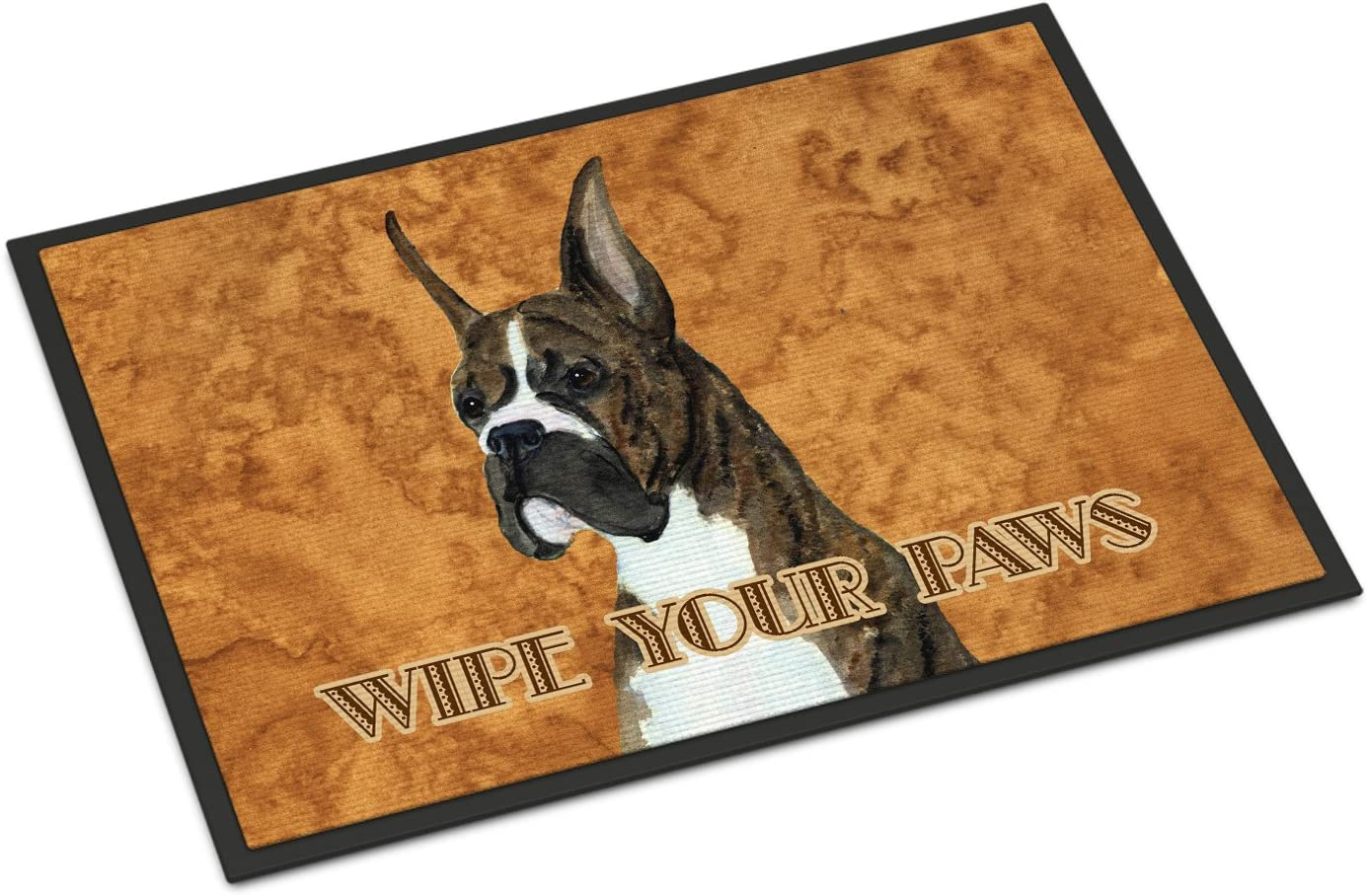 Caroline s Treasures SS4888JMAT Brindle Boxer Wipe Your Paws Indoor or Outdoor Mat 24×36, 24H X 36W, Multicolor