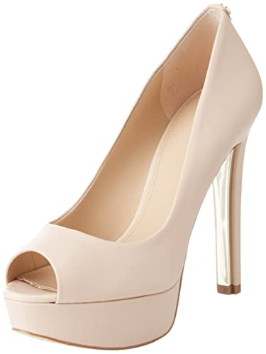 Guess Footwear Dress Open Toe, Escarpins à Plateforme Femme, Ecru (Ivory ), 38 EU