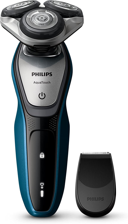 Afeitadora Philips AquaTouch para afeitar en húmedo y en seco ...