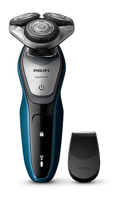 PPhilips AquaTouch Nass- und Trockenrasierer Präzisionstrimmer S5420/06 Elektro Nass-und Trockenrasierer