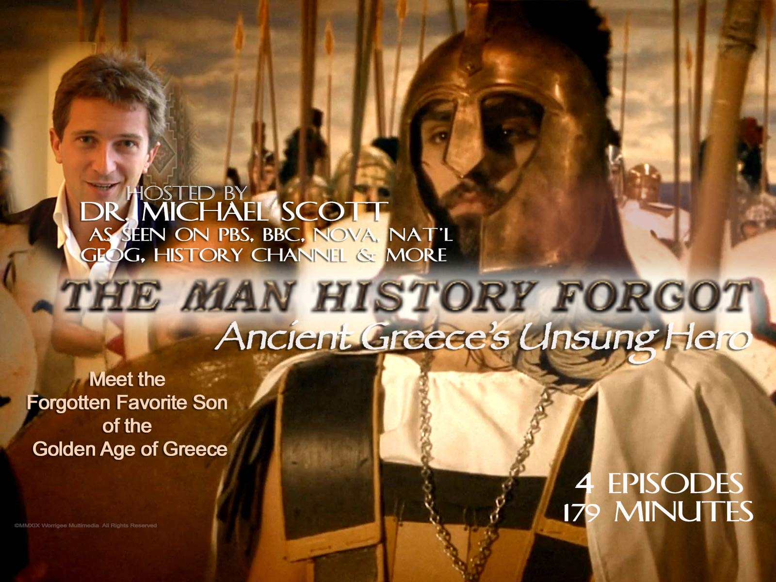 The Man History Forgot, Ancient Greece's Unsung Hero on Amazon Prime Video UK
