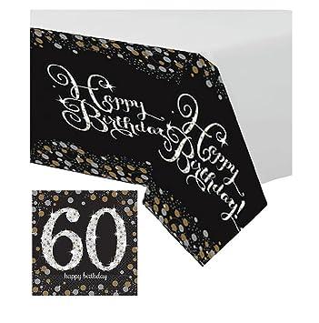 Feste Feiern Geburtstagsdeko Zum 60 Geburtstag 1 Teil