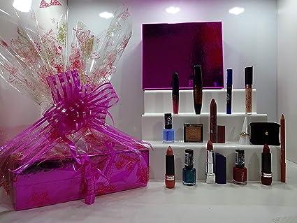 Rimmel London - Juego de 10 cajas de belleza de lujo + anillos y pendientes de