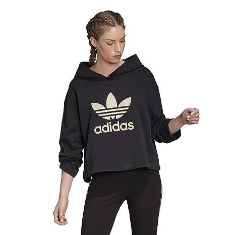 ADIDAS FELPA MAGLIA Donna Cotton Hooded Sport Woman Sweater