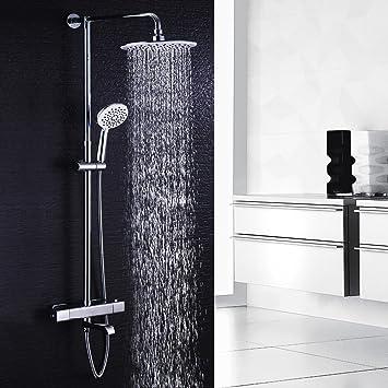 Top Hausbath Regal Duschsystem Sets mit Thermostat Duschset mit TA48