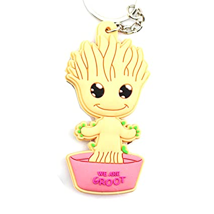 Groot (Baby) Guardianes de la Galaxia: Llavero - PVC: Amazon ...