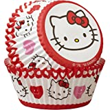 Wilton 415-7620 Hello Kitty Standard Baking Cups (50 Pack), Multicolor