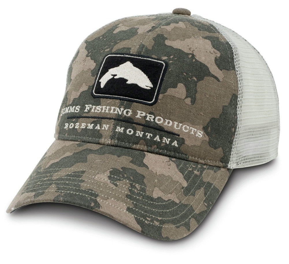 19f6dc72710 Simms Trout Trucker Cap Simms Camo  Amazon.co.uk  Sports   Outdoors