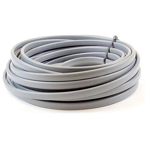 Cable triplax eléctrico gris 6242Y, enrollable y con longitudes personalizables disponibles