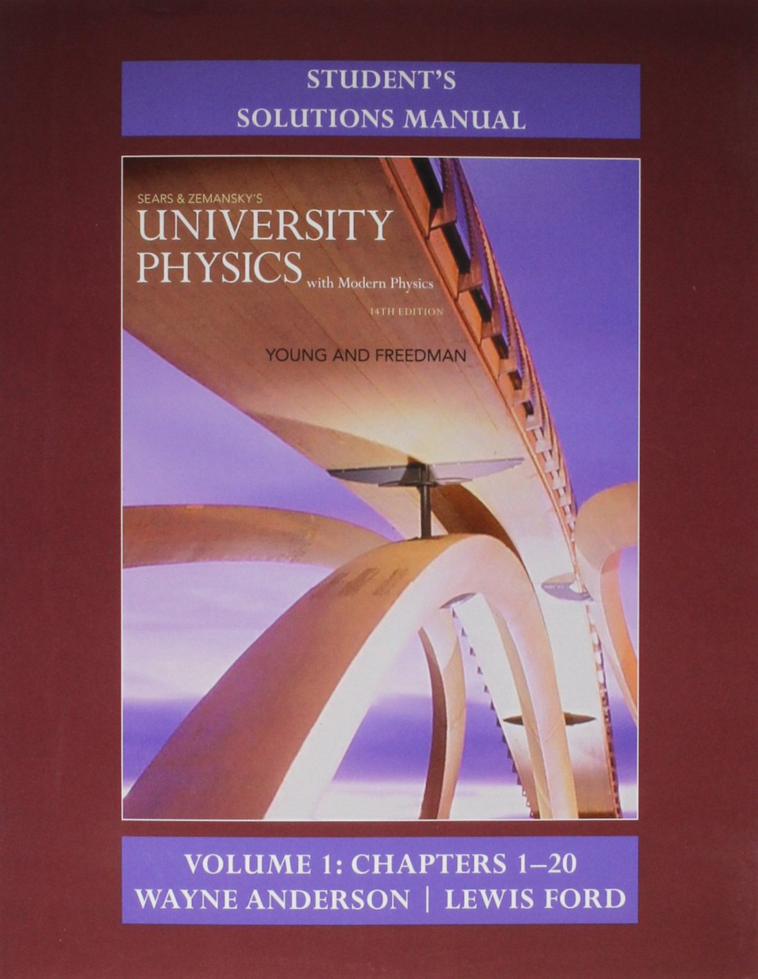 Student's Solution Manual for University Physics with Modern Physics Volume  1 (Chs. 1-