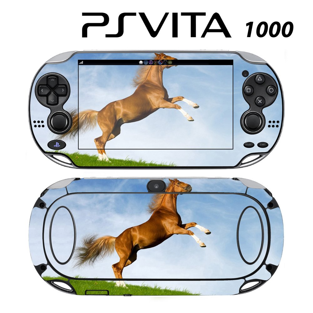 Decorative Video Game Skin Decal Cover Sticker for Sony PlayStation PS Vita (PCH-1000) - Dancing Horse