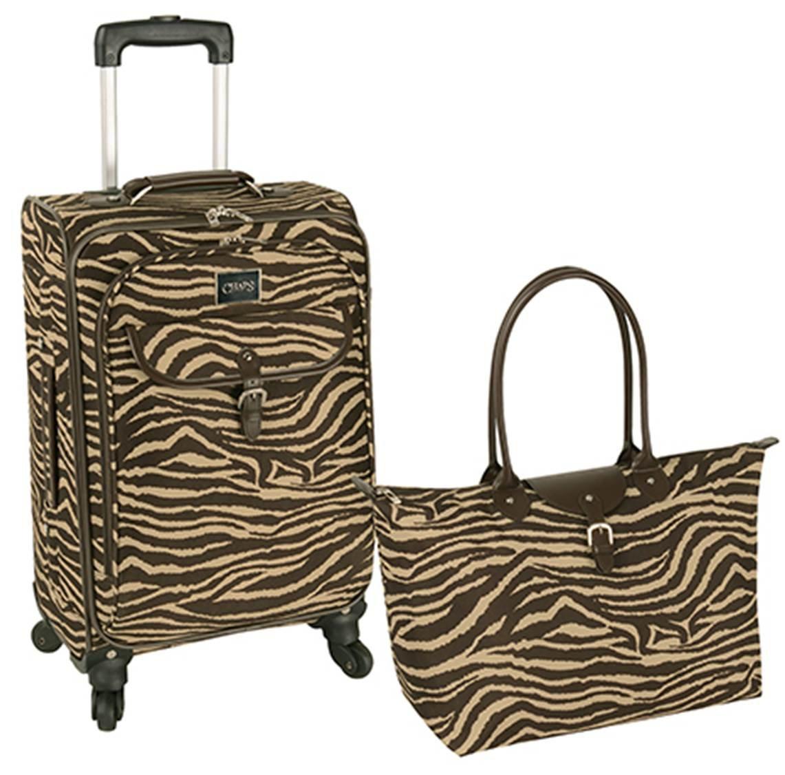 Amazon.com: 2 Pc Chaps Women's Fairhaven Luggage Set, 20