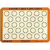 Sasa Demarle Silpat MACARONS Premium Non-Stick Silicone Baking Mat, Big Sheet Pan Size (2/3 Sheet Pan), 13.58''x 19.5'' for a 15''x21'' Sheet Pan - 28 Circles - by Pastry Chef's Boutique