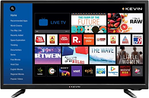 Kevin 32 Inch HD Ready LED Smart TV K32CV338H (2021 Model)