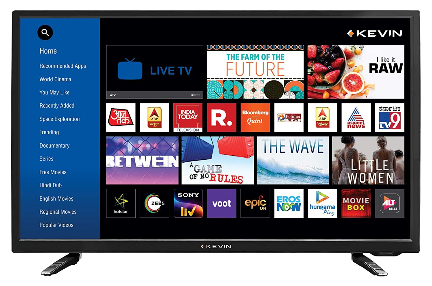 Best TV Under 20000 In India 2020 kevin-80-cm