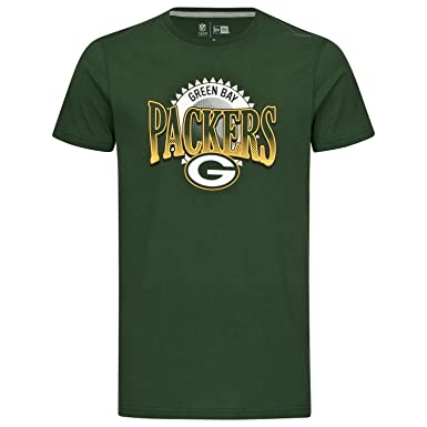New Era NFL Green Bay Packers Fan Pack T-Shirt Men Green XXS (XX-Small)   Amazon.co.uk  Clothing 3ac774b6a