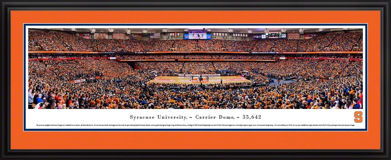 Amazon Com Syracuse Basketball 44x18 Inch Double Mat