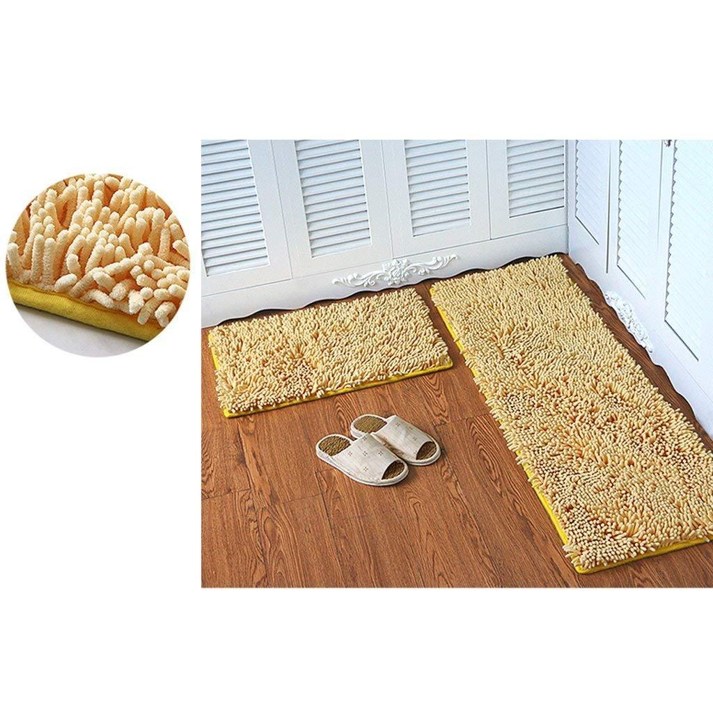 JU Chenille Matratze Tür Matratzen Schlafzimmer Tür Tür Tür Anti-Skid Pad Bad Küche Wasser Matte Mat Tür Matte B07J3B2PBV | Neue Sorten werden eingeführt  62e6d2