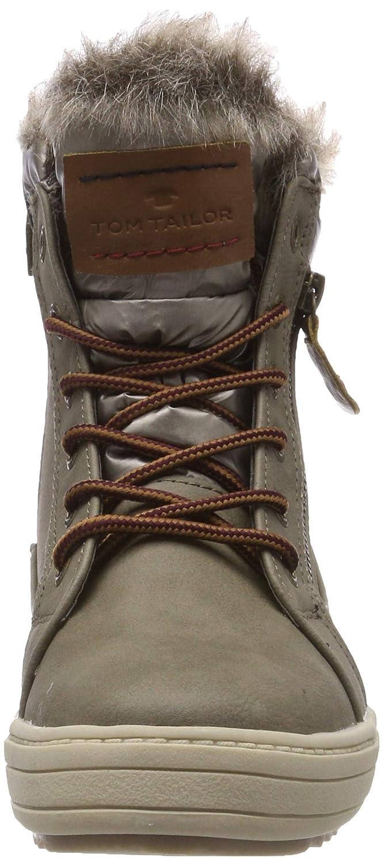 TOM TAILOR Damen 5894702 Schneestiefel Beige (Mud (Mud Beige 00021) 25e252