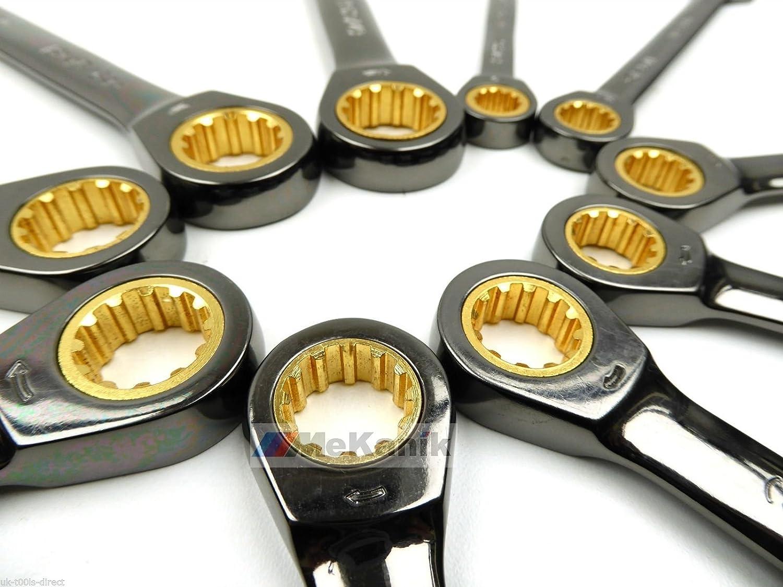 New Ratschenschlüssel Set Metrisches 10–19 mm AF SAE 3 20,3 20,3 20,3 cm – 3 10,2 cm-Maulschlüssel Set B01N8TEQ4F | Ausgezeichneter Wert  9bfe92