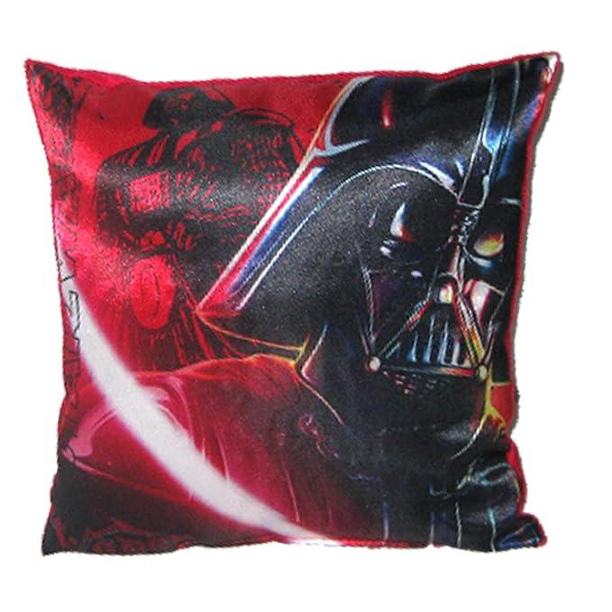 Star Wars-The Clone Wars Darth Vader Jedi Yoda Chicos Almohada - Rojo -